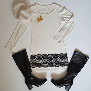 Dresses & Skirts - Long Sleeve Shift Dress